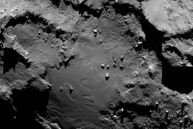 Stunning close up detail of comet 67P/Churyumov-Gerasimenko