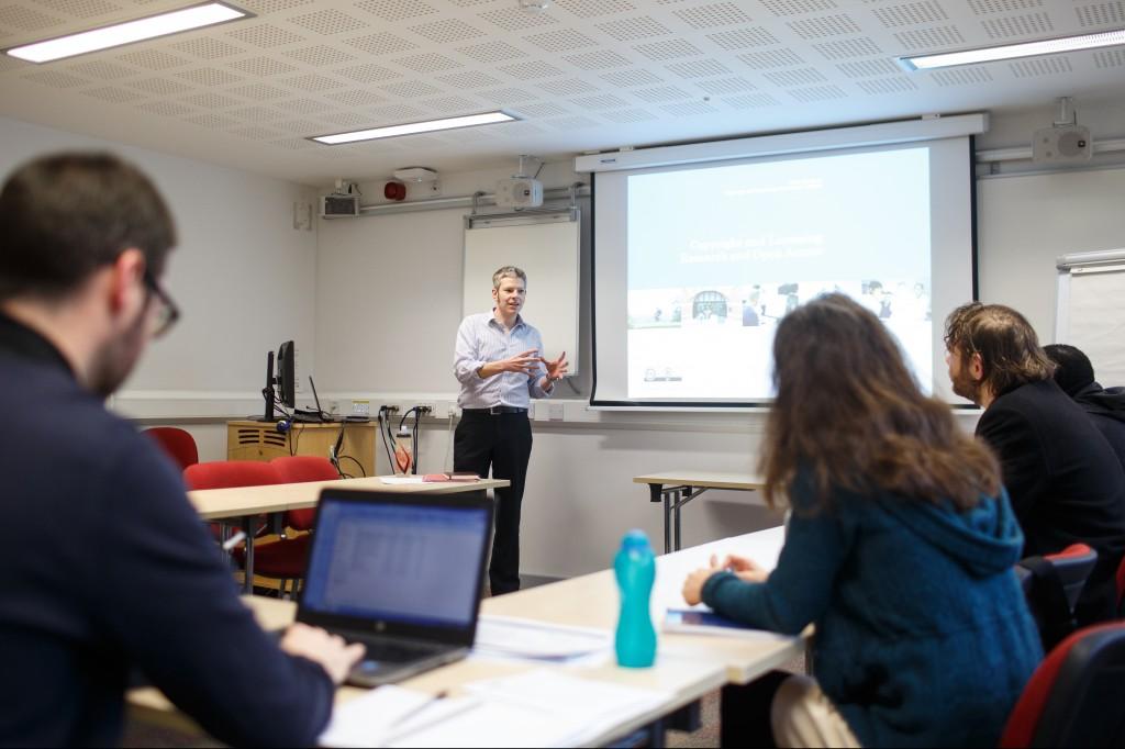 Chris Morrison - copyright and licensing seminar