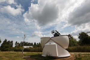 Open dome - Observatory - Beacon Project - SPS