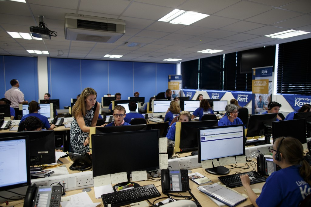 Call centre for Clearing