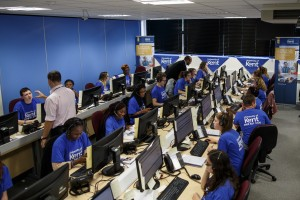 Call centre for Clearing 2015