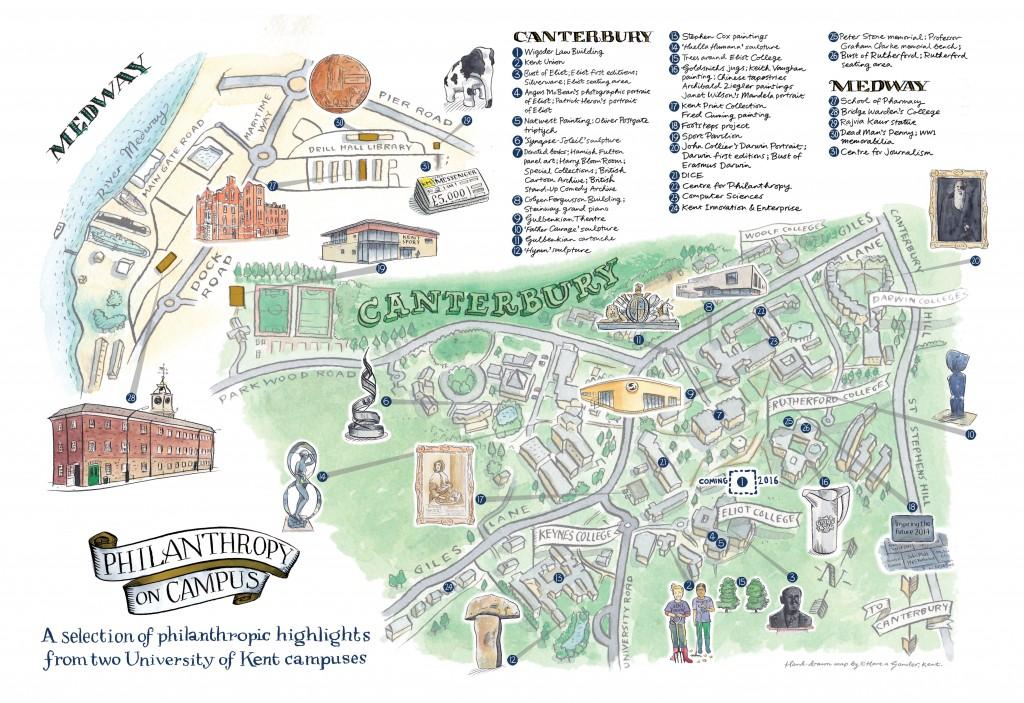 Philanthropy on campus - Hidden History