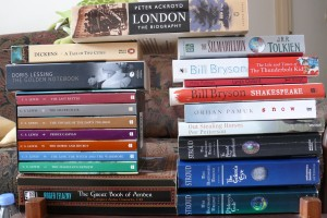 Recent, present and future reading material