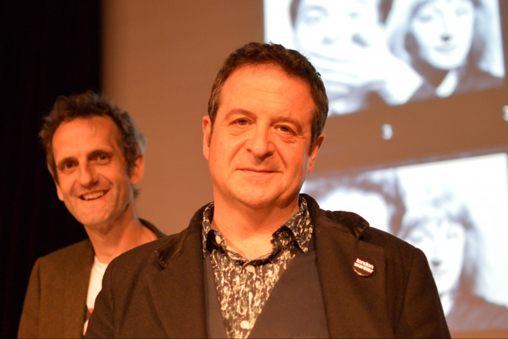 Mark Thomas and Olly Double