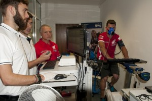Altitude tests in the laboratory