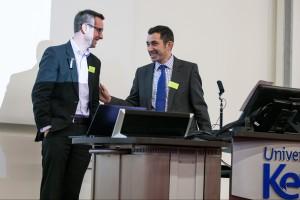 Dr Tim Doulton and KentHealth's  Dr Peter Nicholls