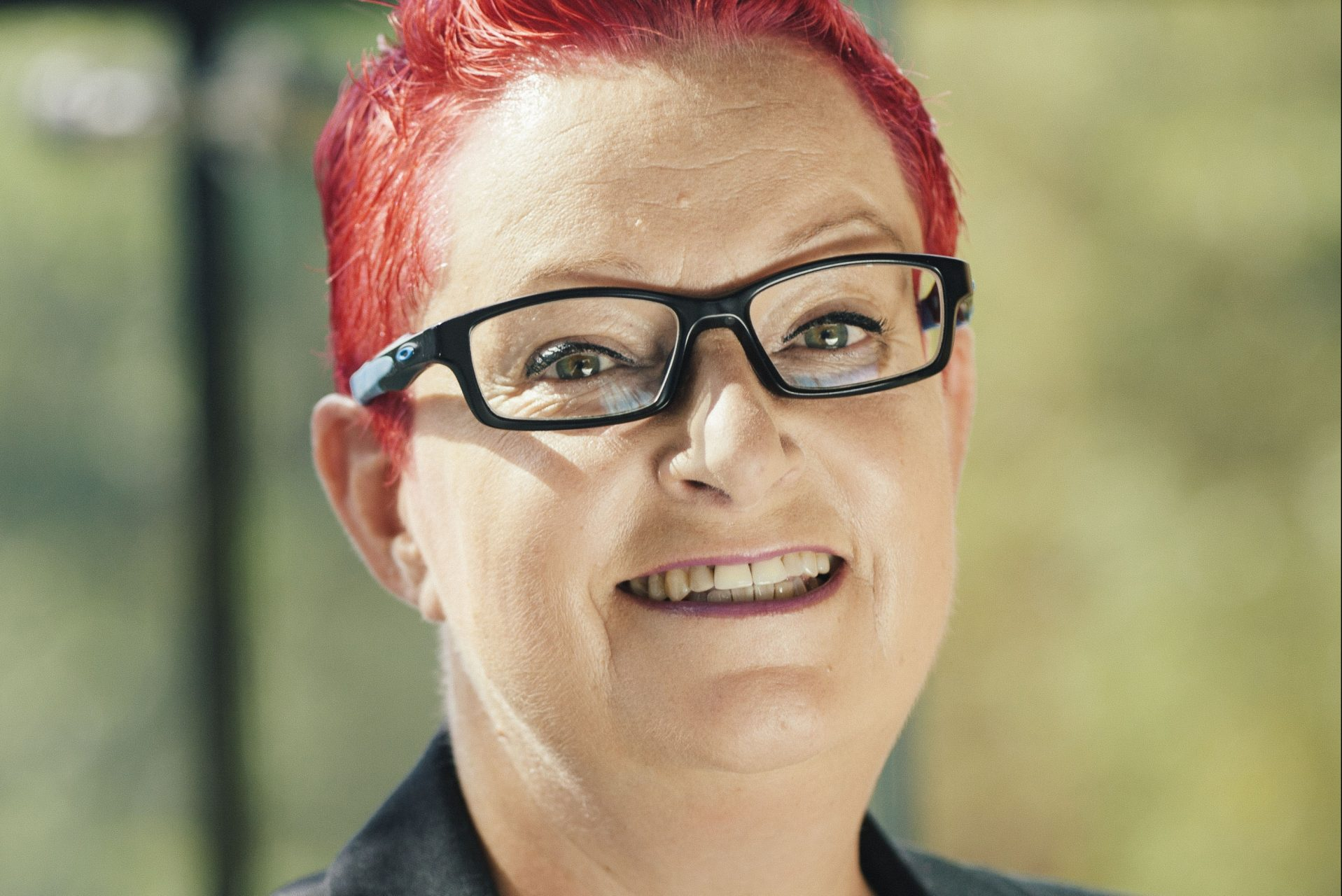 Close up photo of Dr Sue Black