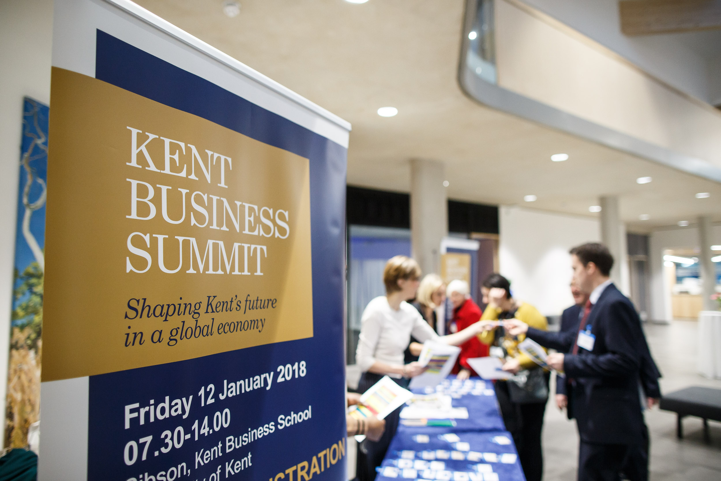 Kent Business Summit in 2018