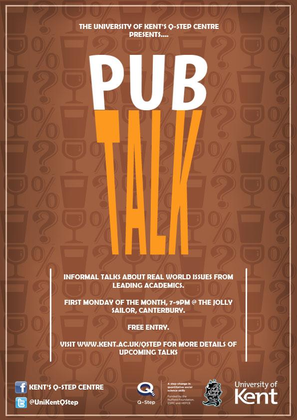 PubTalk poster