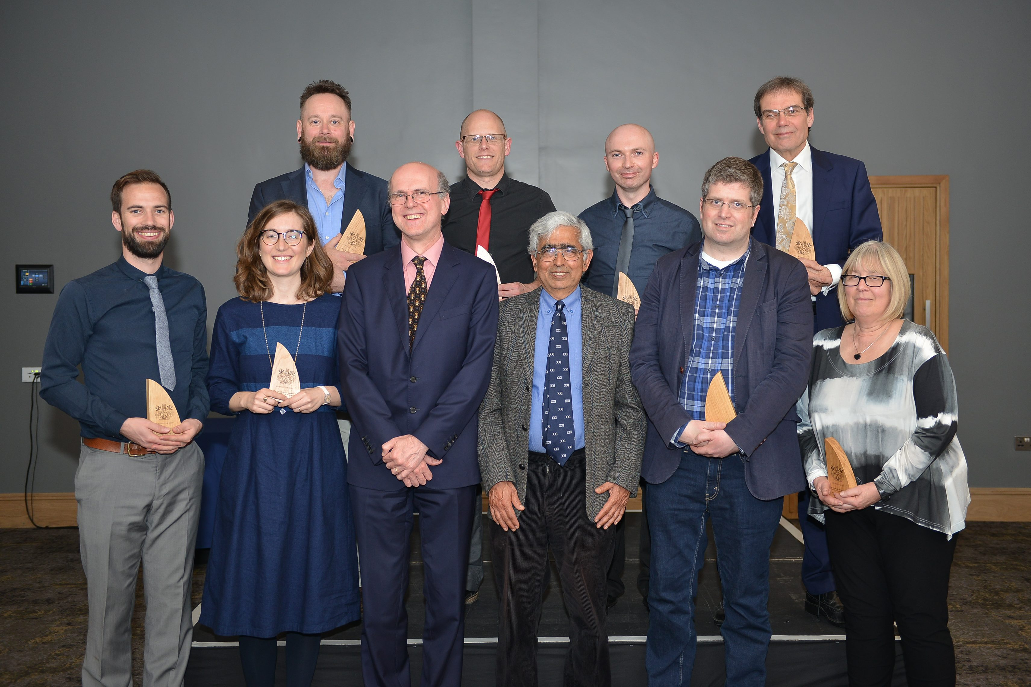 Research Prize winners 2018