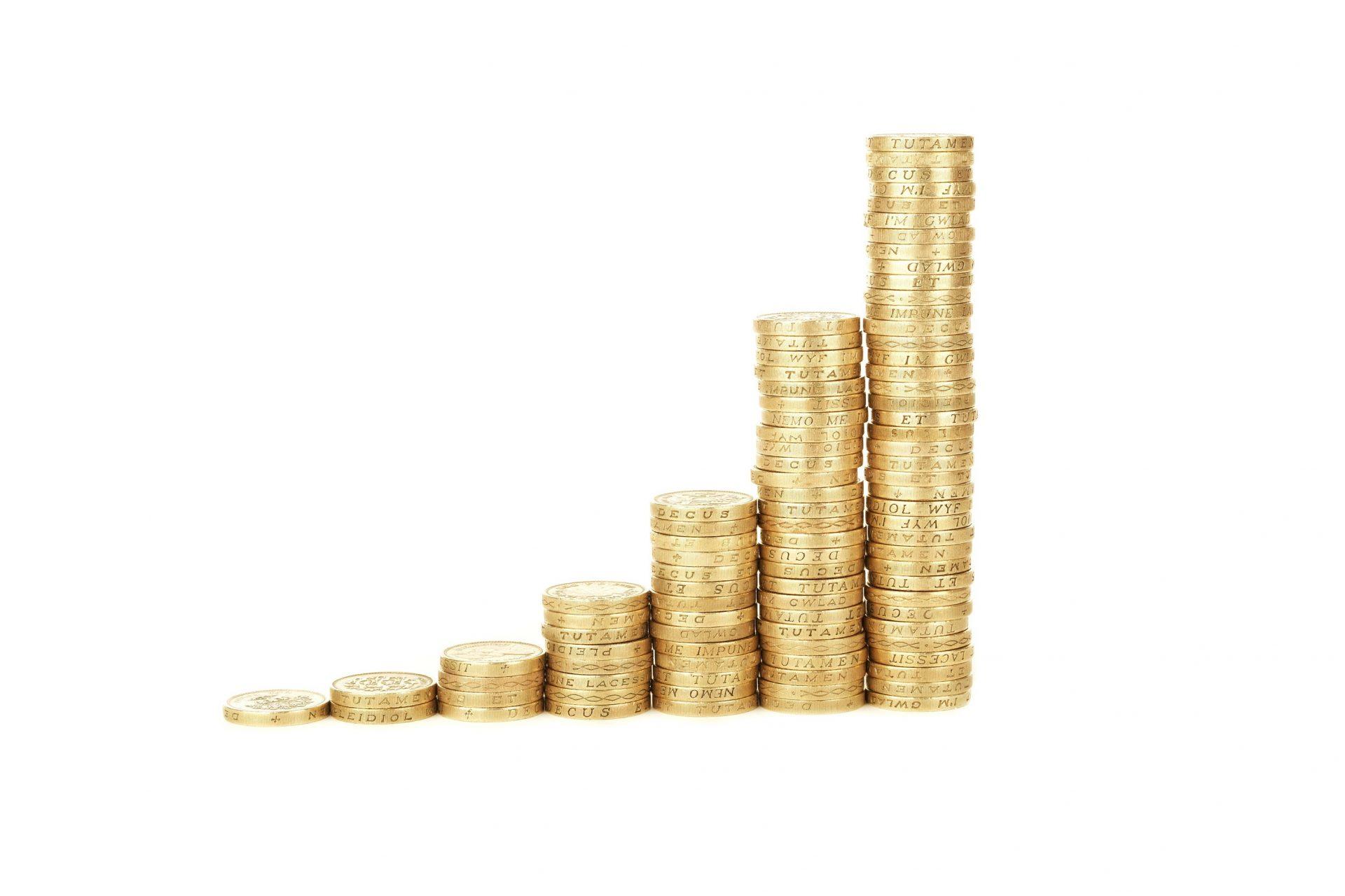 Money increasing in value