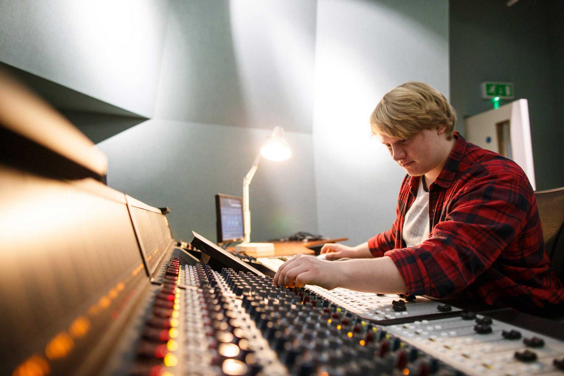 CMAT mixing desk