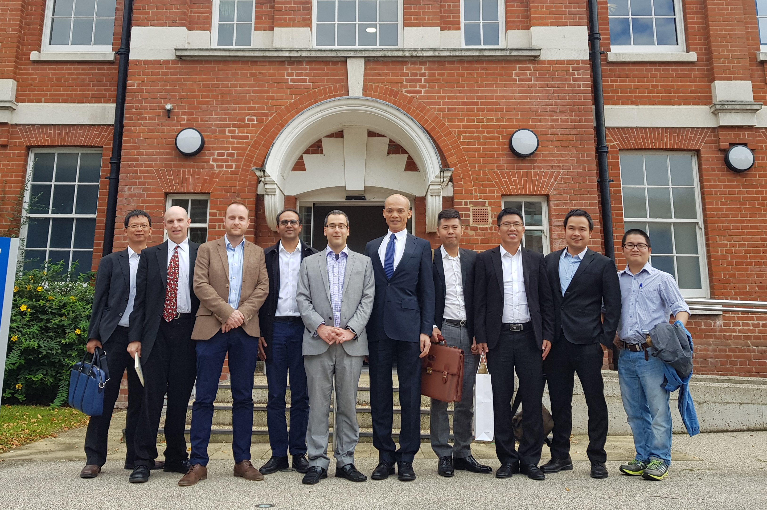 The School of Computing in Medway hosted a meeting with a Vietnamese bank CEO