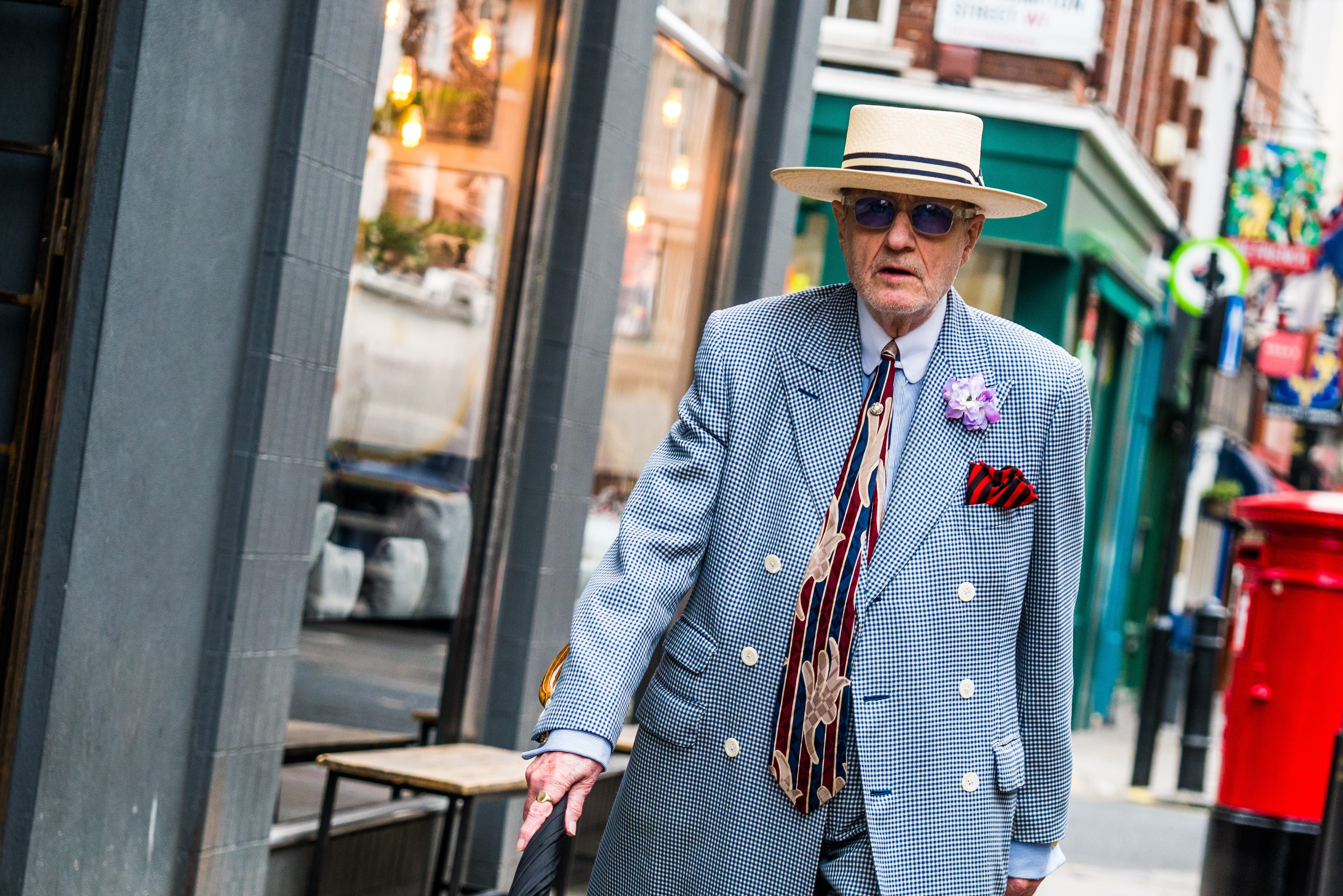 Older men wear what they want, mostly