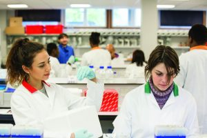 Biosciences laboratory