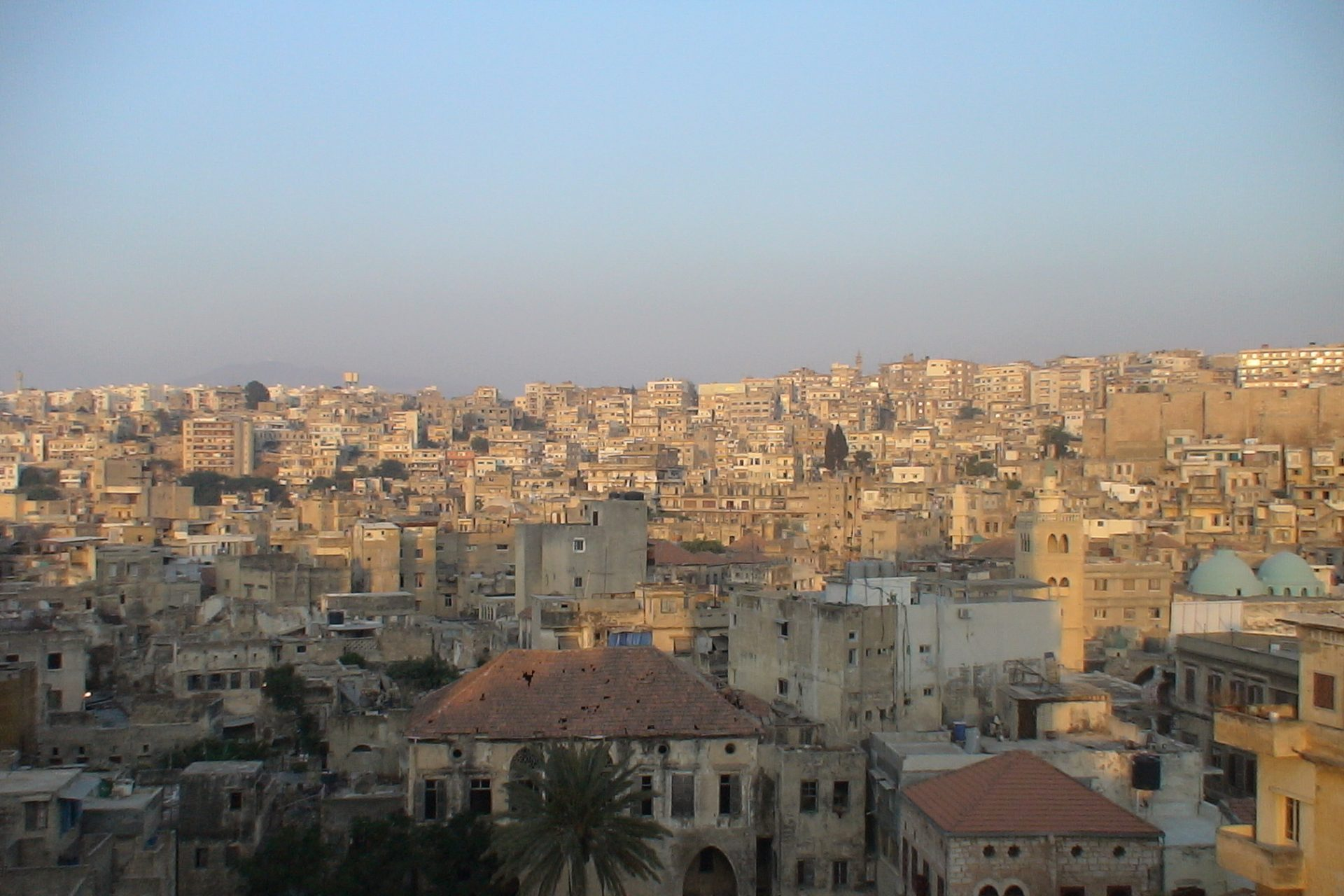 Picture of city in Lebanon