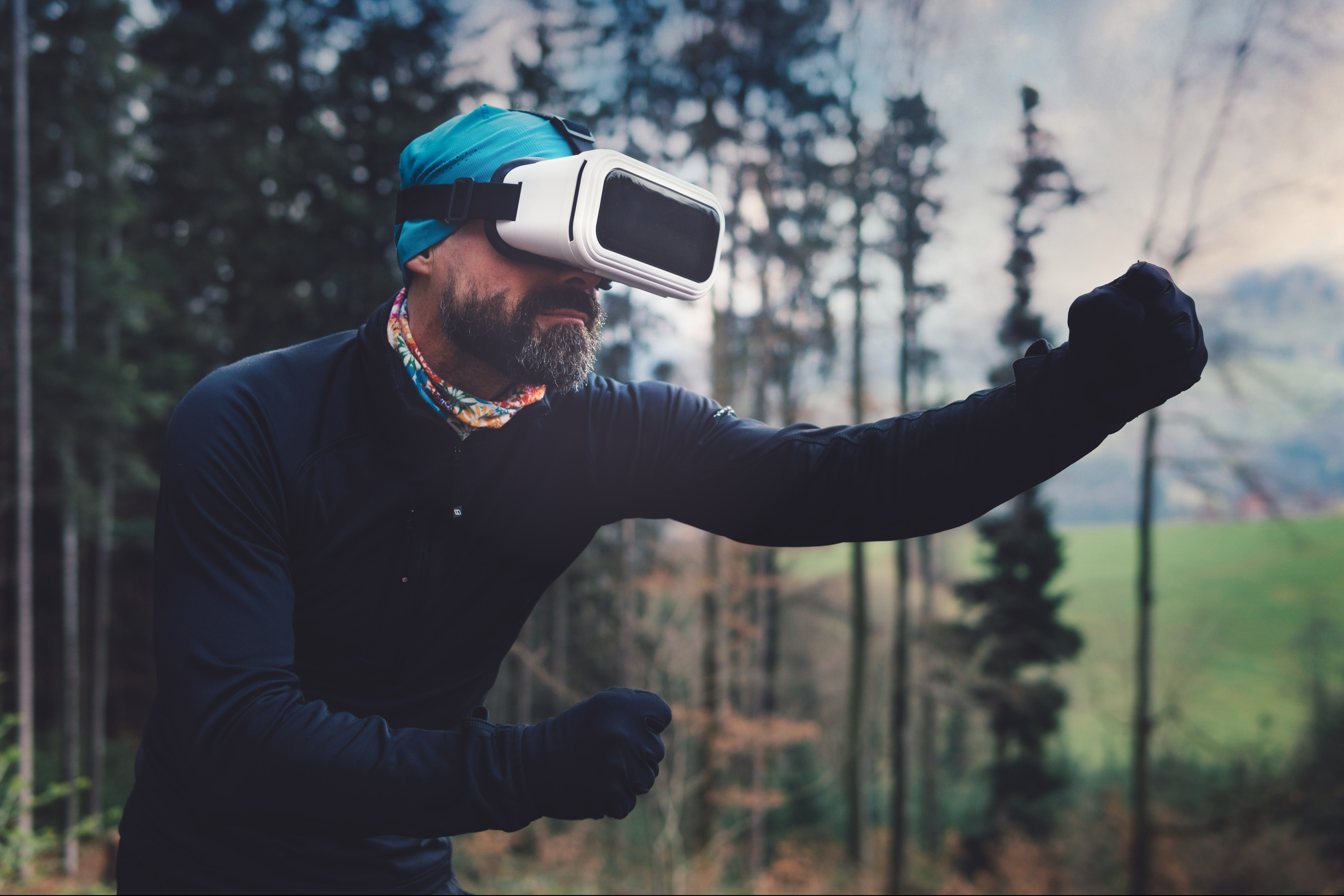Virtual reality can improve exercise performance