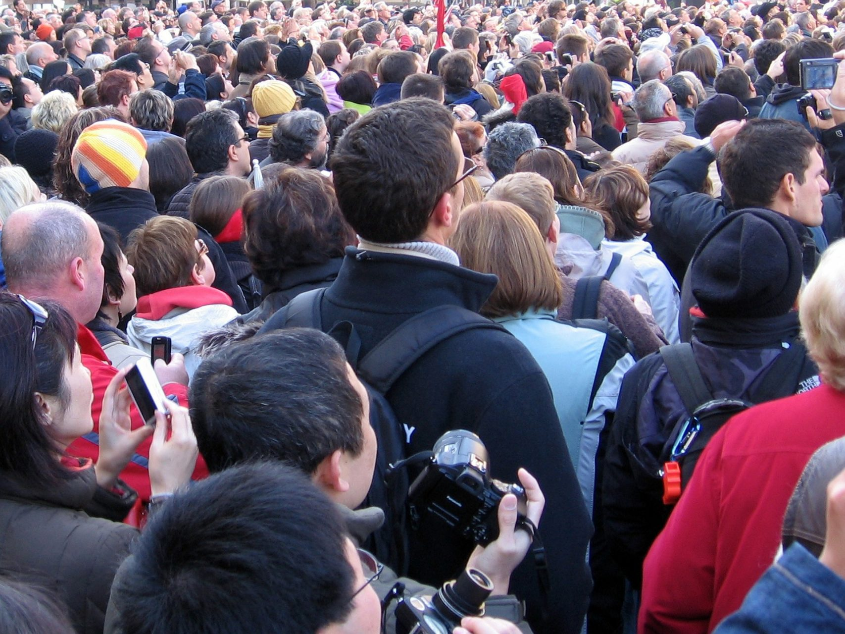 Image of a crowd scene