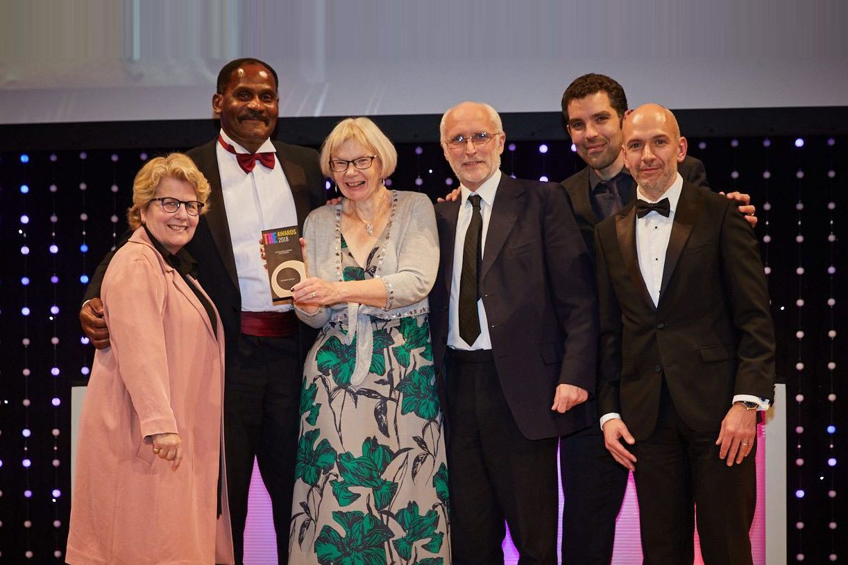 University of Kent receive Outstanding Support for Students Award