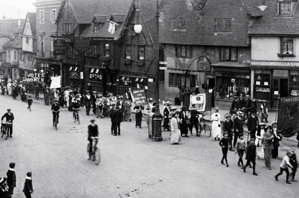 Historical image of Women's Movement in South East