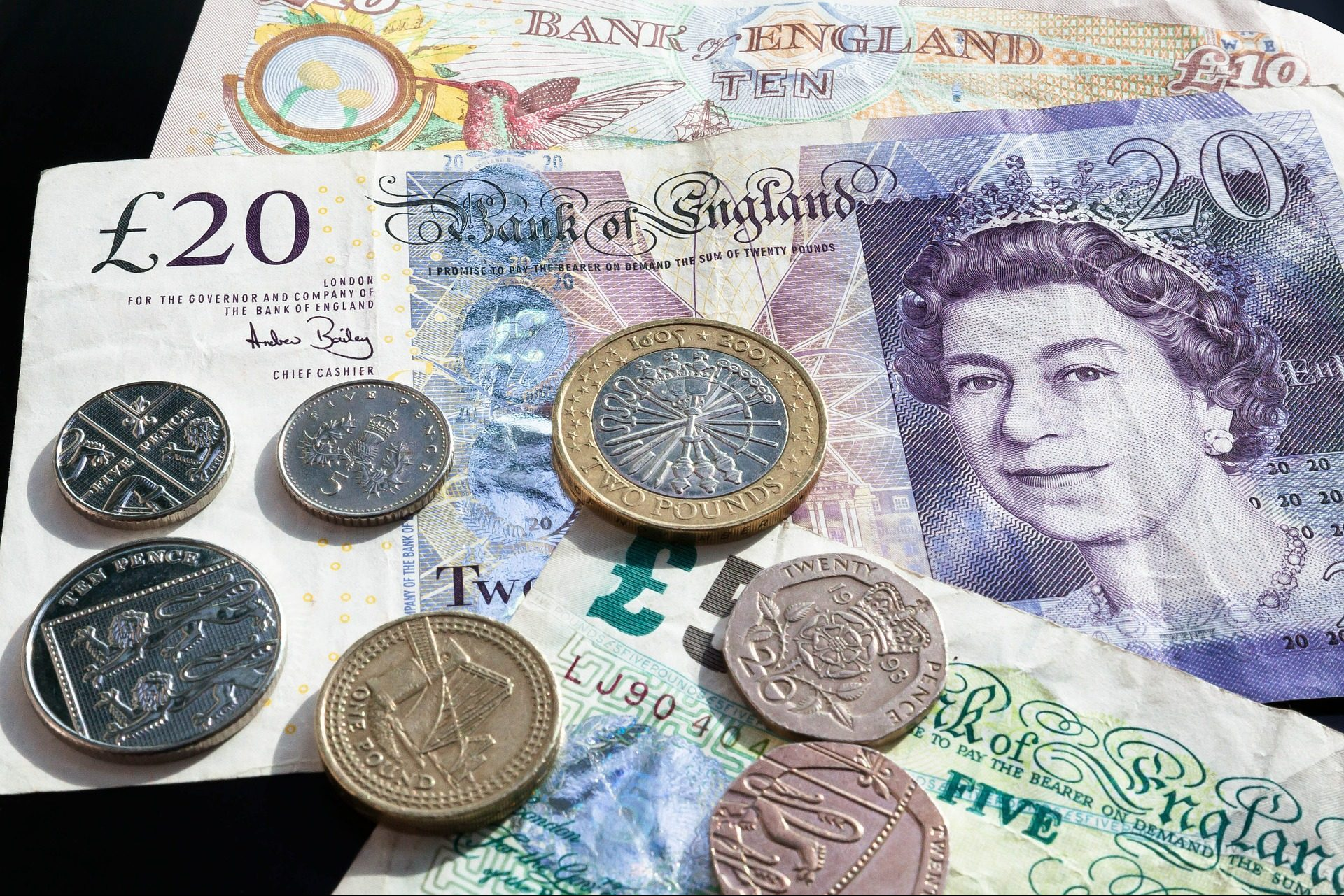 Image of UK money