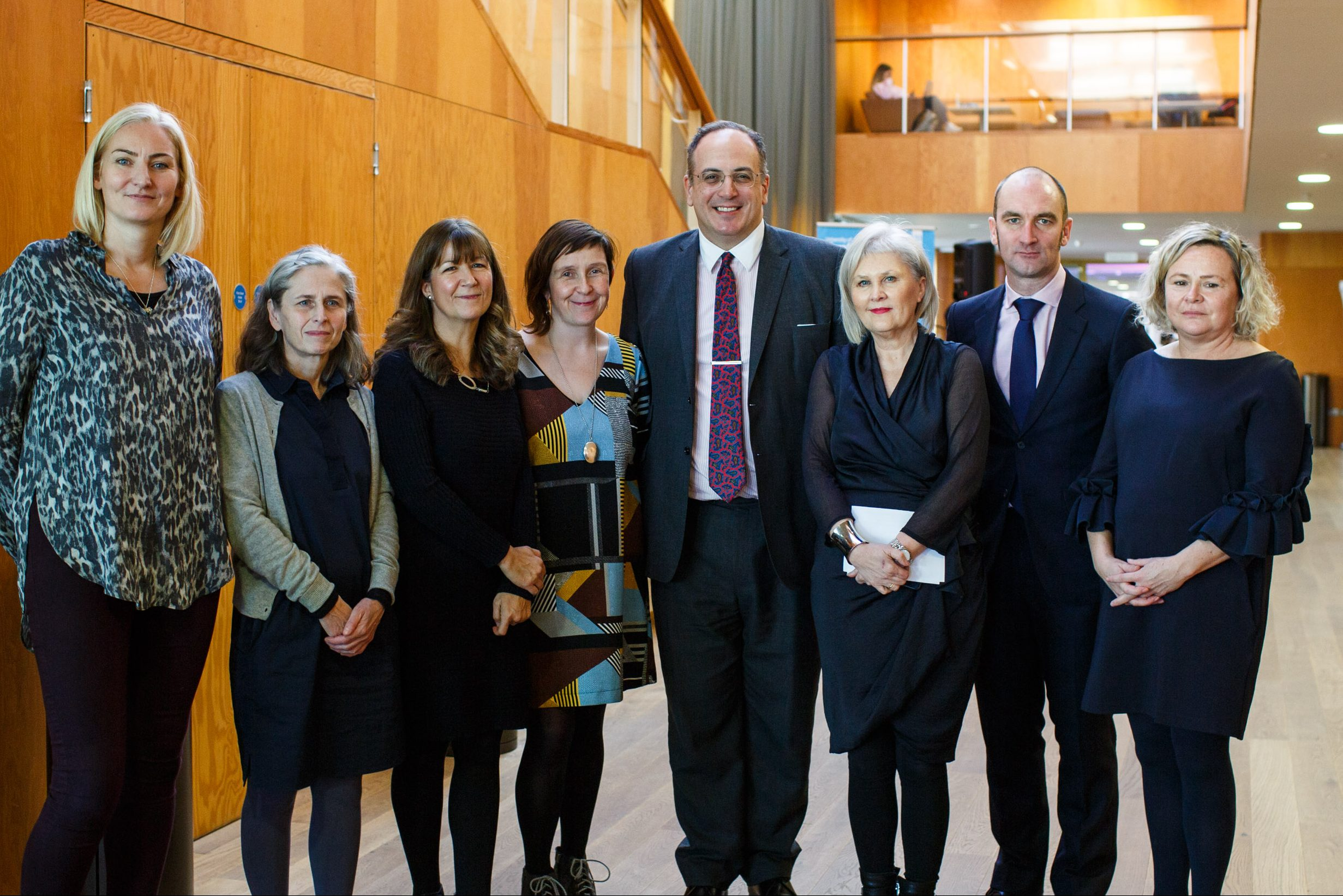 Michael Ellis MP visited the University to announce the successful funding bid