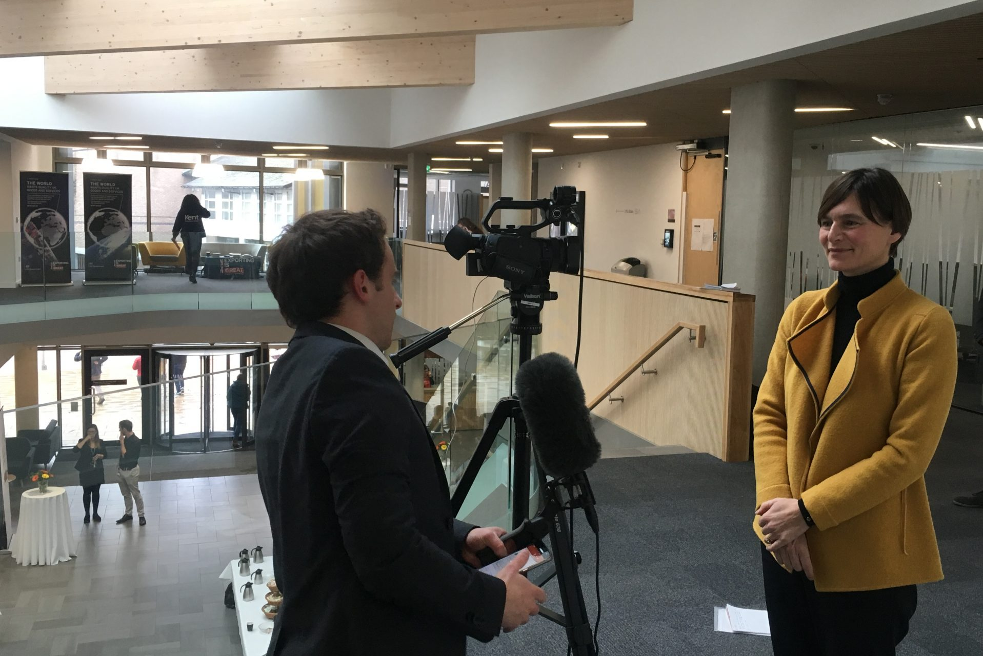 Vice-Chancellor Professor Karen Cox interviewed by KMTV
