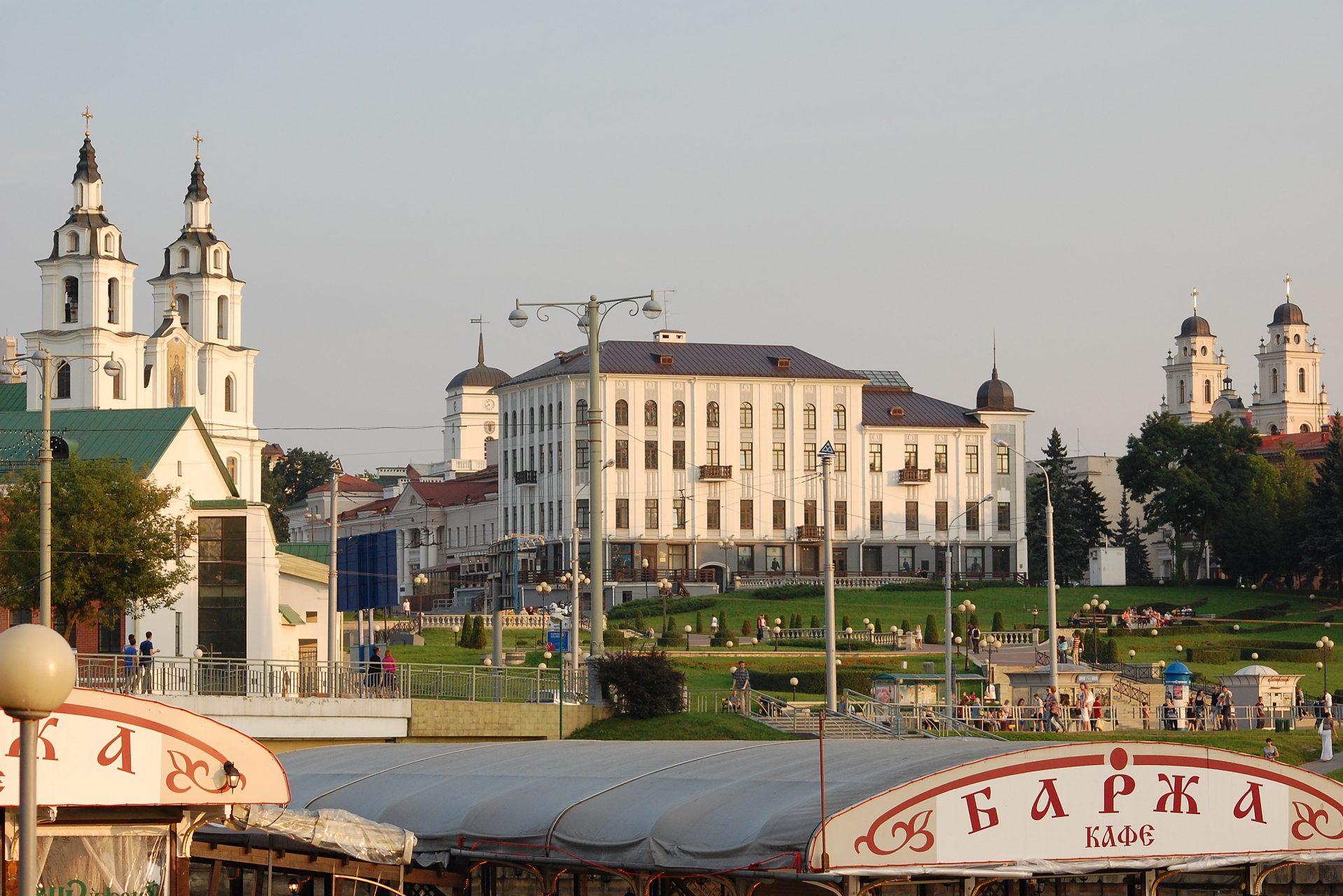 Buildings in Minsk