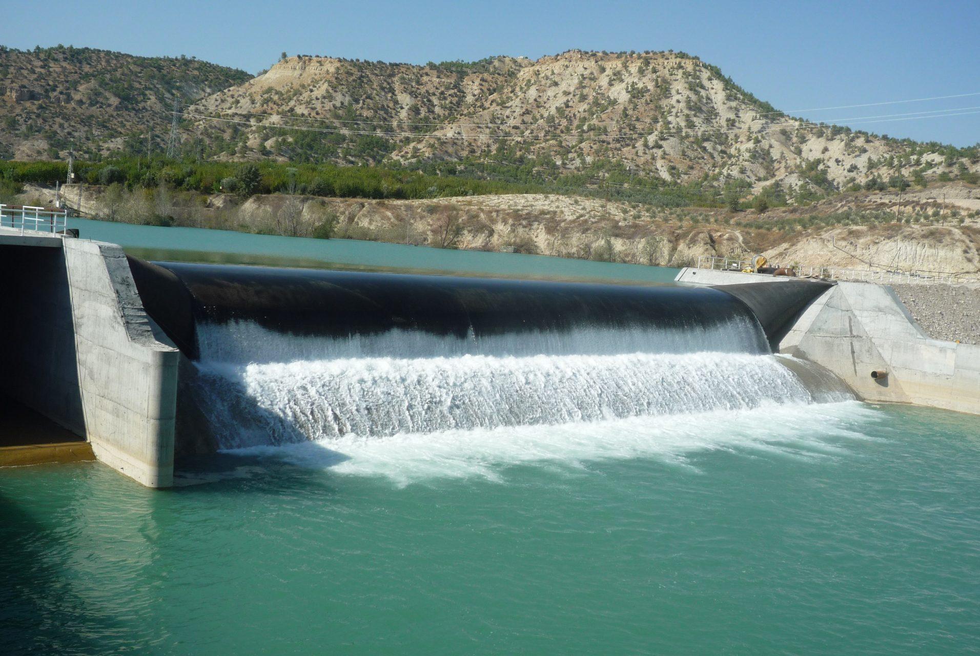 Azmak Dam in southern Turkey