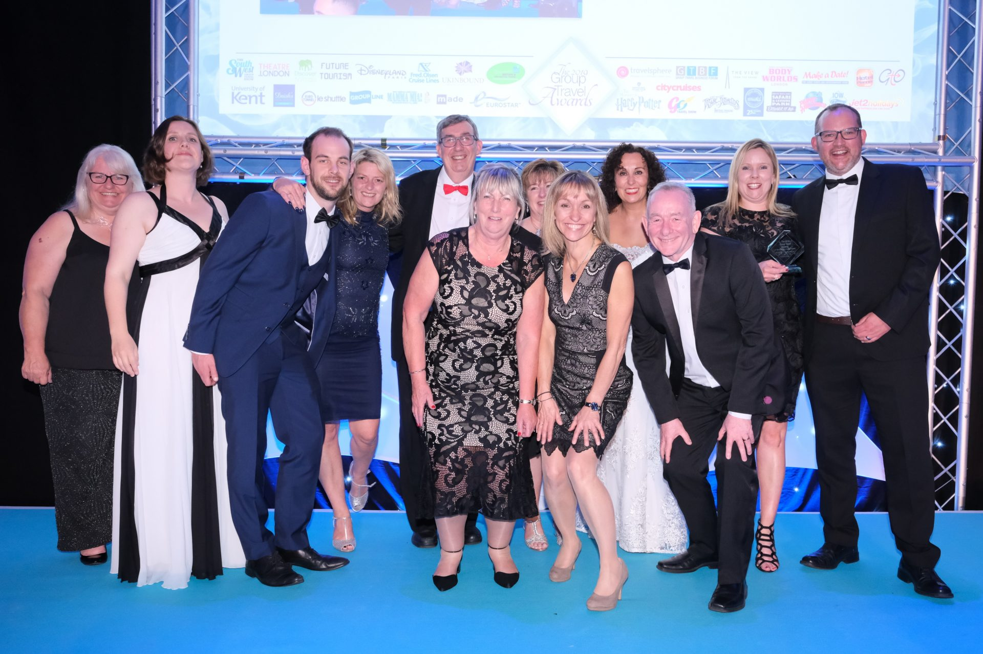 The University has won the Best University Accommodation for Groups award for the twelfth year in a row at the Group Travel Organiser's Awards.