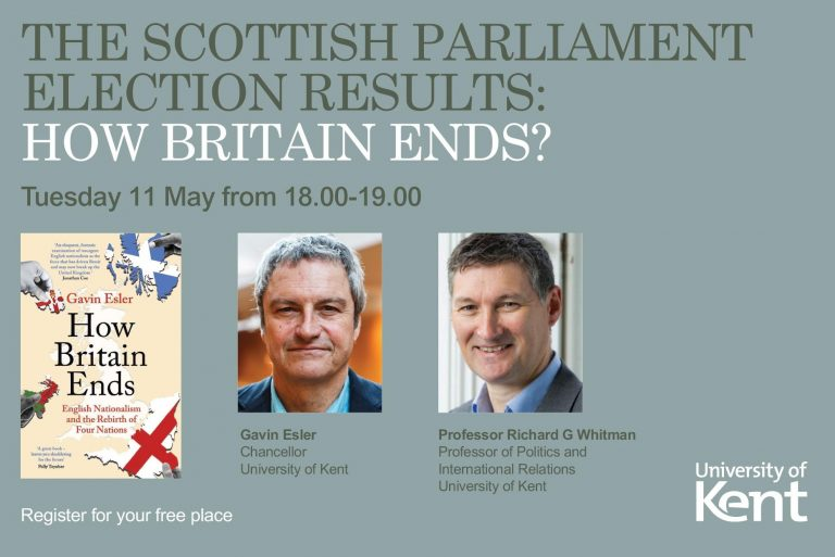 Gavin Esler to discuss the implications of Scottish Parliament election results (11 May)
