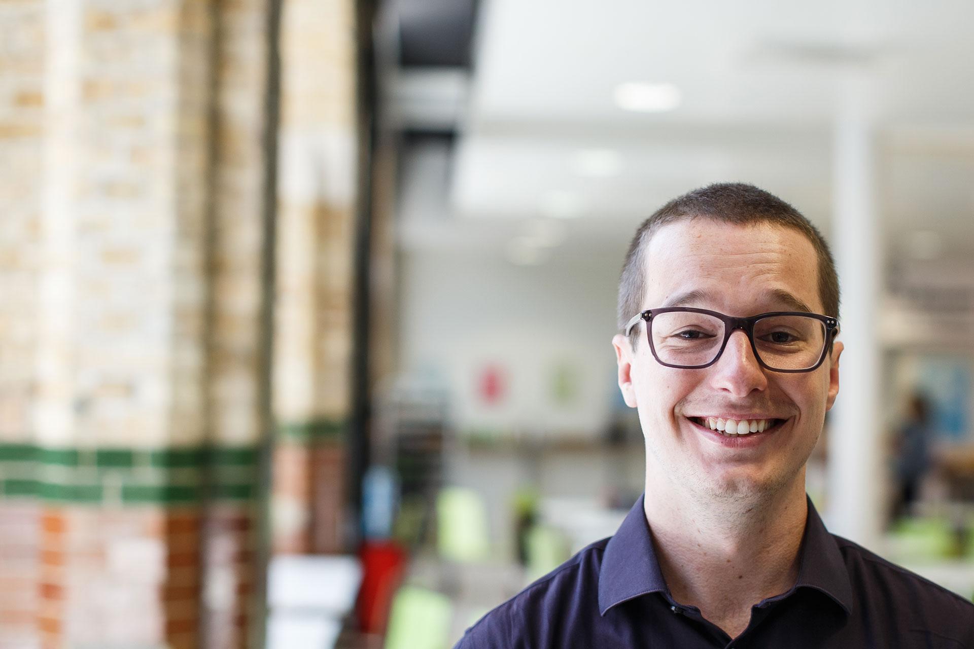 Computing student Alex Bitsios