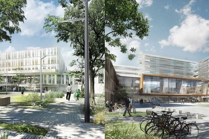 Concepts for a smart eco city green spaces and sustainable design