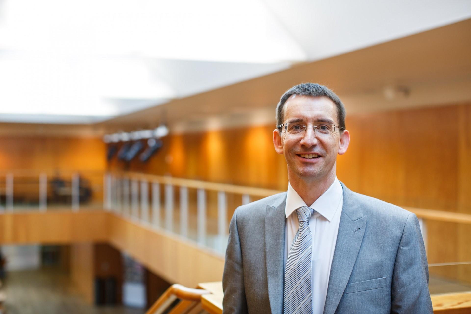 Professor Jeremy Carrette, Dean for Europe